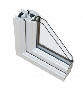 double glazing cross section