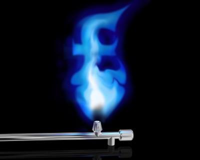 pound gas flame